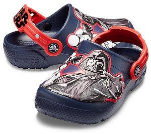 Crocs do Star Wars Dark Side - Funlab - Cinza e Vermelho
