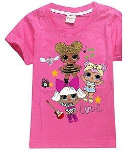 Blusa LOL Surprise - Pink