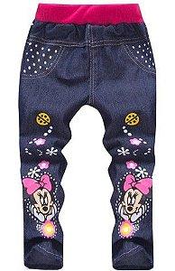 Calça Jeans da Minnie