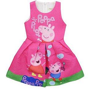 Vestido de Festa Peppa Pig - Pink