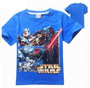 Camiseta Star Wars- Azul