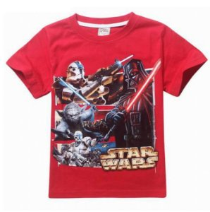 Camiseta Star Wars- Vermelha