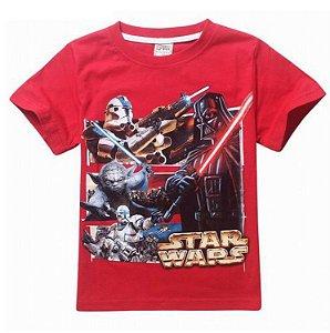 Camiseta Star Wars- Vermelha