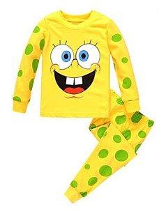 Pijama do Bob Esponja