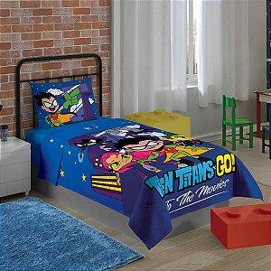 Jogo de Cama - Teen Titans Go - 3 Peças
