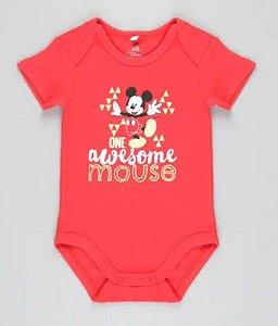 Body do Mickey - Disney - Algodão Sustentável