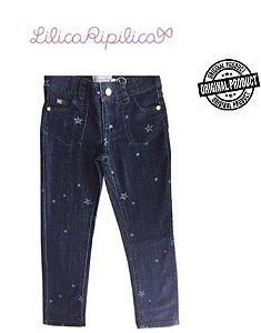 Calça Jeans Estrelas - Lilica Ripilica