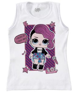 Blusa LOL Surprise - Branca - Rocker
