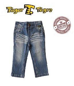 Calça Jeans Azul Claro- Tigor Baby