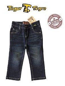 Calça Jeans Azul  Tigor Baby
