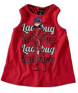 Blusa Ladybug Vermelha - Miraculous