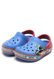 Sandália Crocs Infantil Crocband Captain America Clog