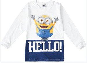 Camiseta Infantil Minions - Meu Malvado Favorito - Branca - Malwee