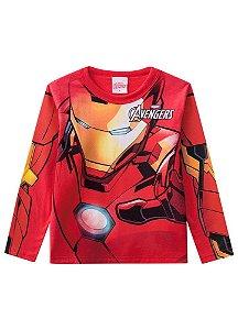 Camiseta do Homem de Ferro  - Avengers - Brilha no Escuro - Brandili