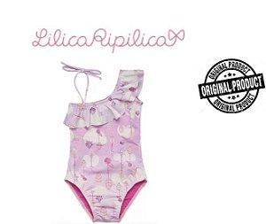 Maiô Rosa - Lilica Ripilica Baby