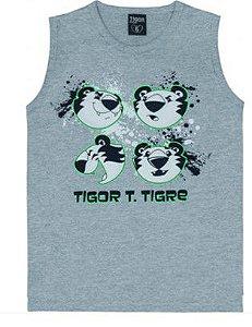 Regata Tigor T Tigre - Cinza Mescla