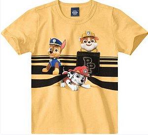 Camiseta Amarela -  Patrulha Canina
