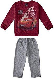 Conjunto de Blusa de Moletom e Calça dos Carros - Mcqueen