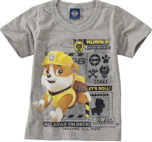 Camiseta Rubble -  Patrulha Canina
