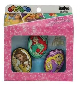 Jibbitz Crocs Princesas da Disney - Broche para Crocs