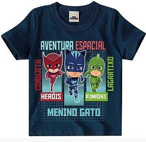 Camiseta PJ Masks- - Azul