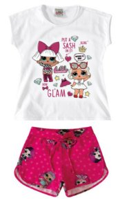 Conjunto de Blusa + Short - Lol's Surprise