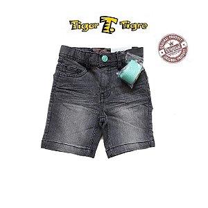 Bermuda Jeans Tigor com Cinto