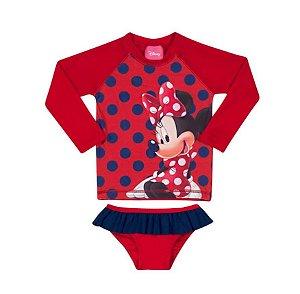 Conjunto Proteção UV 50 FPS  - Minnie - Disney