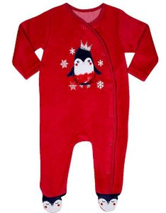 Macacão Pinguim Princesa - Linha Bichinhos