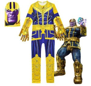 Fantasia de Luxo do Thanos - Avengers