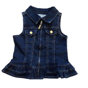 Colete Jeans -Azul -  Lilica Ripilica