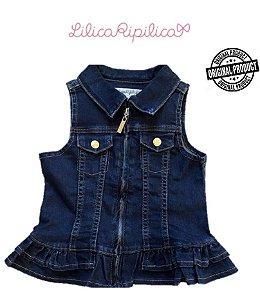 Colete Jeans - Lilica Ripilica