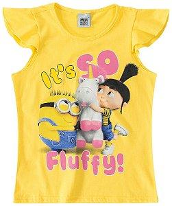 Blusa Infantil Minions - Amarela - Meu Malvado Favorito - Malwee