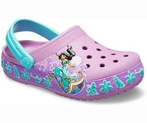 Crocs da Jasmine - Aladdin - Estilo Crocband  Fashion - Disney