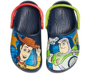 Crocs do Buzz e do Woody - Toy Story