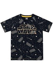 Camiseta Star Wars - Preta - Fakini