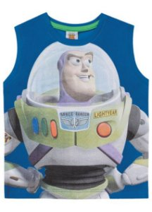 Regata Buzz Lightyear Toy Story - Azul - Fakini