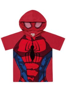 Camiseta do Homem Aranha - Máscara e Capuz