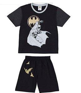 Pijama Infantil Batman - Preto - Lupo
