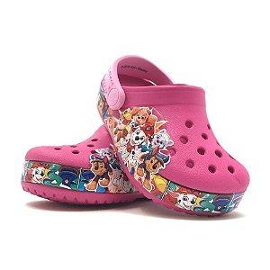 Crocs Infantil Patrulha Canina - Rosa - Crocs