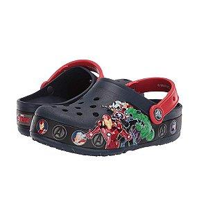 Crocs Vingadores com Luzinhas Piscantes - Marvel