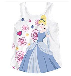 Blusa Cinderela - Princesas da Disney