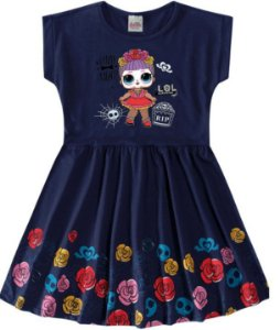Vestido da LOL's Suprise - Flores