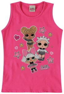 Blusa Infantil LOL Surprise Queen Bee, Diva e Fresh - Rosa - Malwee