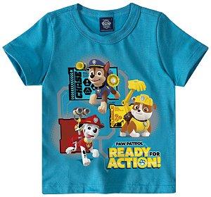 Camiseta da Patrulha Canina - Azul