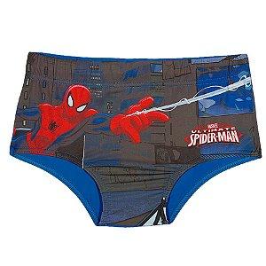 Sunga do Homem Aranha - Marvel - Azul Turquesa - Tiptop