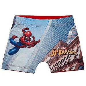 Sunga Boxer Infantil Homem Aranha Marvel - Vermelho - Tiptop