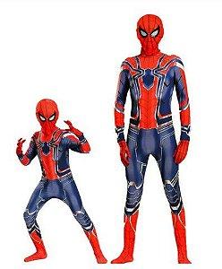 Fantasia Homem Aranha - Guerra Infinita - Coleção Pai e Filho
