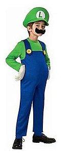 Fantasia do Luigi - Mario Bros