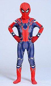 Fantasia Infantil Homem Aranha - Guerra Infinita